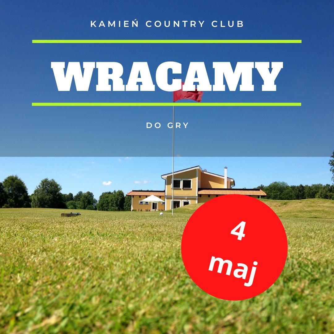 kamien country club 4 maj