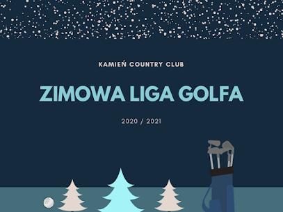 zimowa liga golfa kamień golf club
